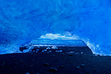 Ice Tunnel Photographic Print by Howard Ruby