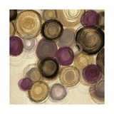 Purple Whimsy Sq I Prints by Jeni Lee