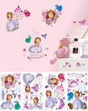 Sofia the First Peel and Stick Wall Decals Autocollant