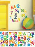 Lazoo Alphabet Peel and Stick Wall Decals Vinilo decorativo