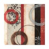 Circular II Giclée-Premiumdruck von Barbara Burnside