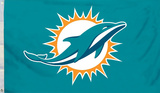 NFL Miami Dolphins Flag with Grommets Flag
