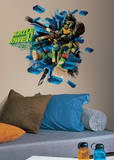 Teenage Mutant Ninja Turtles Brick Poster Peel & Stick Giant Wall Decal Wall Decal