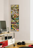 Marvel Comic Panel - Xmen Classic Peel and Stick Giant Wall Decal Autocollant mural