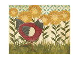 Sunny Hen I Premium Giclee Print by Paul Brent