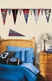 Varsity Pennants Peel and Stick Wall Decals Wall Decal