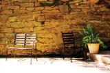 Peaceful Patio II Valokuvavedos tekijänä Alan Hausenflock