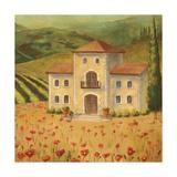 Tuscan Landscape II Posters by Ella Belamar
