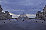 Pyramid at the Louvre III Photographic Print by Rita Crane
