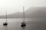 Lake Como Sailboats I Photographic Print by Rita Crane