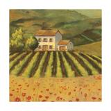 Tuscan Landscape I Prints by Ella Belamar