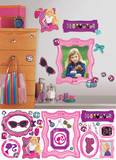 Barbie's Fabulous Frames Peel and Stick Giant Wall Decals Wall Decal
