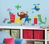 Lazoo Boy Peel and Stick Wall Decals Wall Decal