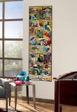 Marvel Comic Panel - Spiderman Classic Peel and Stick Giant Wall Decal Wall Decal