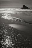 Seashore Serenity I BW Photographic Print by Vitaly Geyman