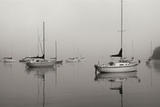 Across the Lake - BW Photographic Print by Tammy Putman