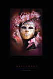 Venician Mask II Photographic Print by John Warren