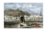 Tomb of the Prophet Muhammad, Medina, Arabia, 1800s Giclee Print