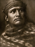 Navajo, a Chief of the Desert, 1904 Photographic Print
