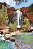 Havasu Falls IV Photographic Print by Larry Malvin