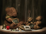 Teddybear School Photographic Print by C. McNemar