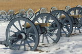 Artillery Defending the Continental Army Winter Camp at Valley Forge, Pennsylvania Photographic Print