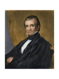 Portrait of US President James K. Polk Giclee Print