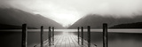 Serene Dock BW I Photographic Print by Bob Stefko