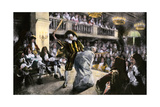 "Theatrical Production of ""Les Fourberies De Scapin,"" a Play by Moliere Giclee Print"