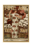 Ad for Fine Art Toilet Soap, 1901 Giclee Print