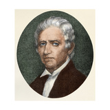 Daniel Boone Portrait as an Older Man Giclee Print