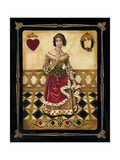 Harlequin Queen Premium Giclee Print by Gregory Gorham