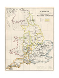 England at the Time of the Norman Conquest, 1066-1081 Giclee Print