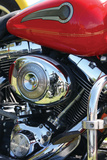 Red Motorcycle Photographic Print by Tammy Putman