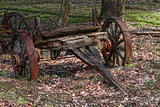 Abandoned Wagon Photographic Print by C. McNemar