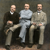 Doctor Jameson, Cecil Rhodes, J.T. Newton, Administrators of British South Africa Company, 1896 Photographic Print