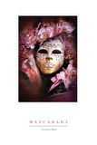 Venician Mask III Photographic Print by John Warren