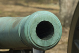 Muzzle of a Civil War Rifled Cannon, Shiloh National Military Park, Tennessee Photographic Print