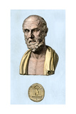 Greek Physician Hippocrates Giclee Print