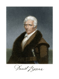 Portrait of Daniel Boone, with His Signature Giclee Print