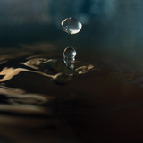 Blue Drop I Photographic Print by Tammy Putman