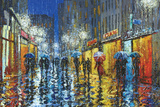 City Rain Prints by Stanislav Sidorov