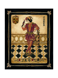 Harlequin Joker Premium Giclee Print by Gregory Gorham