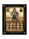 Harlequin King Premium Giclee Print by Gregory Gorham