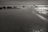 Seashore Serenity III BW Photographic Print by Vitaly Geyman