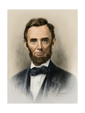 Portrait of President Abraham Lincoln Impression giclée