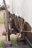 Brake Mechanism of a Covered Wagon on the Oregon Trail, Scotts Bluff National Monument, Nebraska Photographic Print