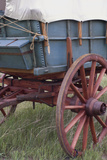 Detail of Covered Wagon on the Oregon Trail, Scotts Bluff National Monument, Nebraska Photographic Print