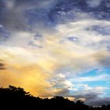 Rainbow Cloud Sq I Photographic Print by Alan Hausenflock