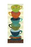 Stacking Cups I Premium Giclee Print by Jeni Lee